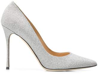 Sergio Rossi metallic pumps