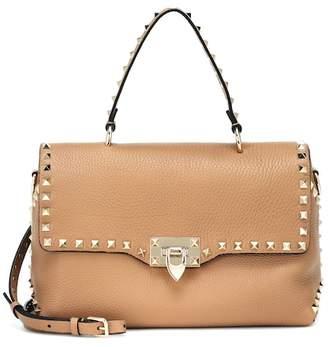 8d5eb76dc34b Valentino Rockstud leather shoulder bag