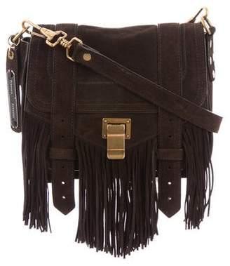Proenza Schouler PS1 Fringe Pouch Crossbody Bag