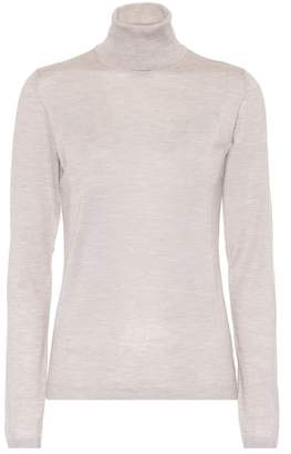 Brunello Cucinelli Cashmere and silk turtleneck sweater