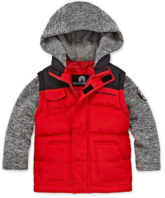 Weatherproof Puffer Vest Toddler Boys