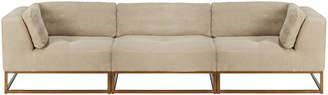 OKA Botero Modular Sofa Set - Natural