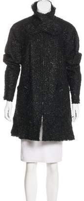 Chanel Metallic Tweed Coat w/ Tags