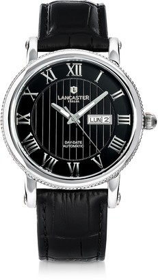 Lancaster Monarch Stainless Steel Watch