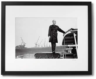Sonic Editions Framed Michael Caine As Jack Carter Print, 17 X 21
