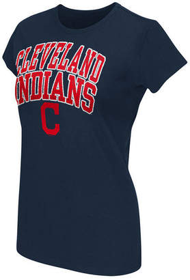 G-iii Sports Women's Cleveland Indians Endzone T-Shirt