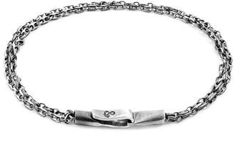 Anchor And Crew Mainsail Single Sail Chain Bracelet