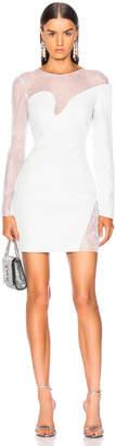 Cushnie et Ochs Fragmented Mini Dress