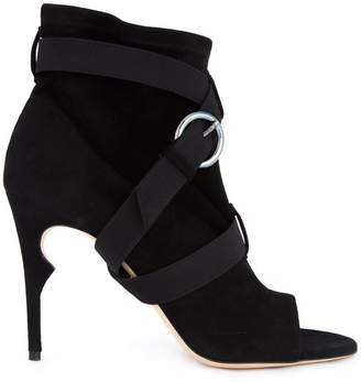 Jerome Rousseau 'Duvall' peep toe ankle boots