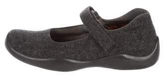 Prada Sport Wool Mary Jane Flats