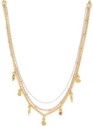 Juicy Couture Charmy Layered Luxe Wishes Necklace