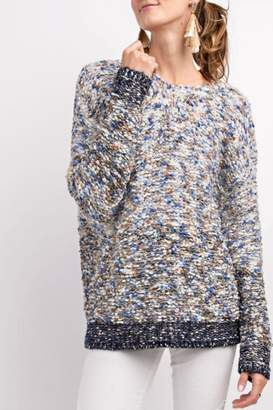 Easel Ombre Multi-Knit Sweater