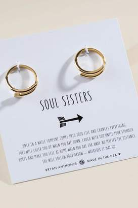 francesca's Bryan Anthonys Soul Sisters Gold Arrow Rings - Gold