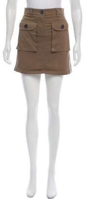 Burberry A-Line Mini Skirt