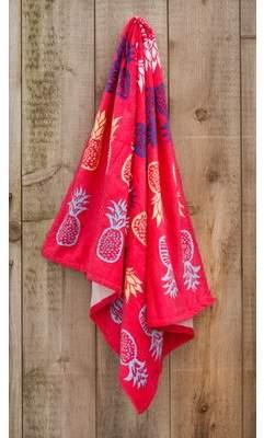 St.Tropez Sands Pineapple Printed Beach Towel