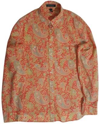 Lauren Ralph Lauren Orange Cotton Top for Women