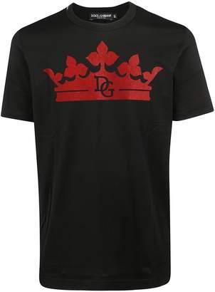 Dolce & Gabbana Crown Printed T-shirt