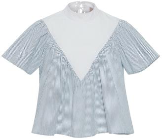 Sea Lace Back Stripe Top $285 thestylecure.com