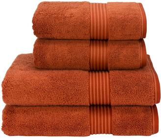 Christy Supreme Hygro Towel - Paprika - Hand