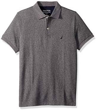 Nautica Men's Slim Fit Short Sleeve Solid Polo Shirt
