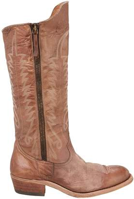 Golden Goose Golden Zip Cowboy Boots