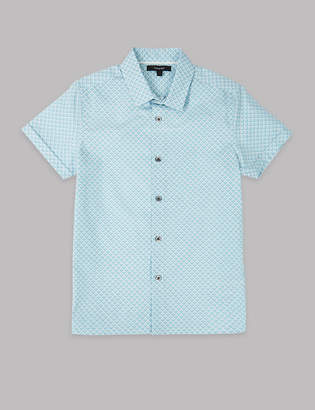 Marks and Spencer Pure Cotton Shirt (3-16 Years)