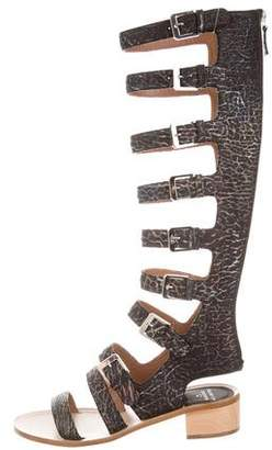 Laurence Dacade Halle Gladiator Sandals $425 thestylecure.com