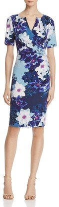 Adrianna Papell Floral-Print Dress $140 thestylecure.com