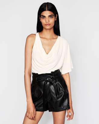 Express Asymmetrical Drape Top