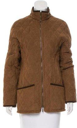Barbour Short Textured Coat $225 thestylecure.com