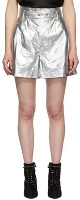 Isabel Marant Silver Tweni Shorts