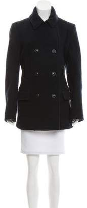 Alexander Wang Notch-Lapel Wool Coat