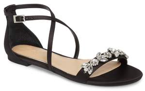 Badgley Mischka Tessy Embellished Sandal