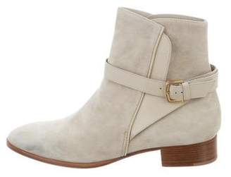 Loro Piana Suede Ankle Boots
