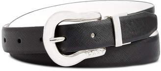 DKNY Reversible Smooth Pant Belt