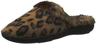 Isotoner Women's Brushed Cheetah Gia Hoodback