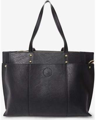 Dorothy Perkins Womens Black Triple Compartment Tote Bag