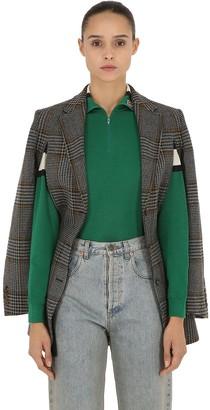 Gucci Iconic Wool Principe Of Wales Blazer