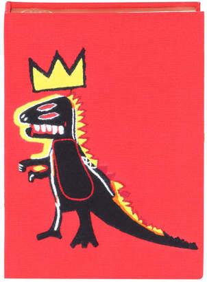 Olympia Le-Tan Basquiat® Dinosaur Book Clutch Bag