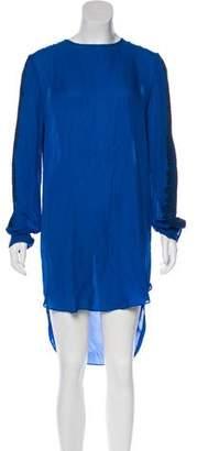 Thomas Wylde Silk Lace Trim Dress w/ Tags
