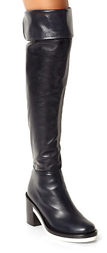 Reed Krakoff Runway Leather Thigh-High Boots