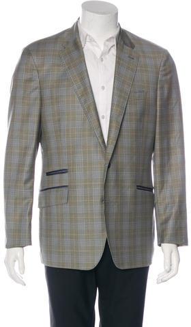 Paul SmithPaul Smith Wool Plaid Sport Coat