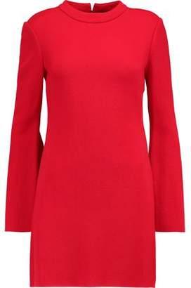 Ellery Duckie Textured-Jersey Mini Dress