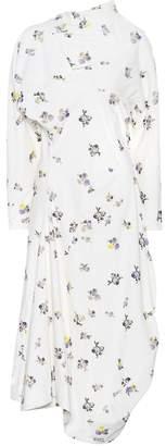 Acne Studios Dragica printed corduroy dress