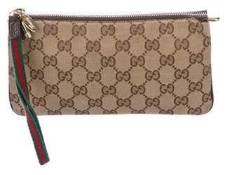 Gucci GG Canvas Jolicoeur Wristlet