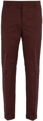 Prada Stretch-cotton chino trousers