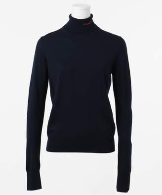 Calvin Klein (カルバン クライン) - CK CALVIN KLEIN WOMEN 【LOGOシリーズ】ファインメリノロゴ タートル ニット(C)FDB