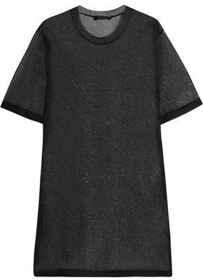 Calvin Klein Collection Wilson Mesh Mini Dress