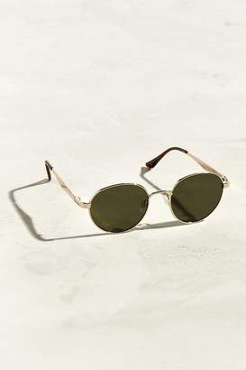 Urban Outfitters Flat Arm Rounded Sunglasses