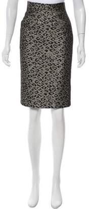 Tibi Knee-Length Pencil Skirt